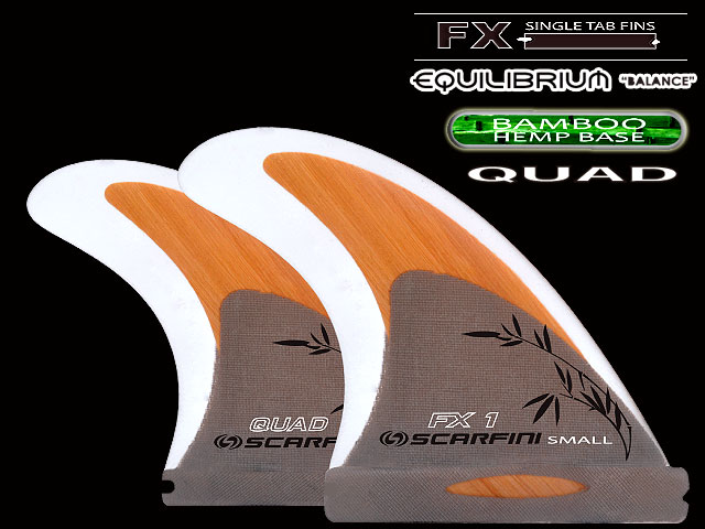 画像1: FX1-BAMBOO HEMP BASE  (麻)QUAD  (S size)