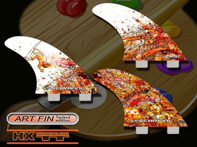 画像1: HX ART FIN/ ''ESCAPE ''FCS BOX (3)FIN対応(M size)