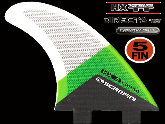 画像1: HX 4  5FIN (5枚セット)``DIRECTA`` FCS  type  (L size)