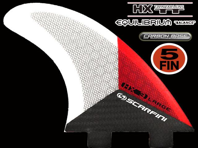 画像1: HX 3 5FIN (5枚セット) EQUILI BRIUIM  FCS  type (L size)
