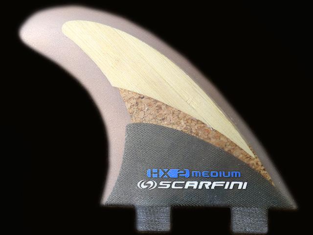 画像1: HX2-BAMBOO CORK(コルク)HEMP BASE (麻)3FIN(M size)