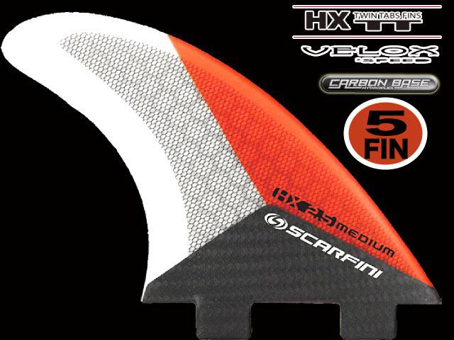 画像1: HX 2.5  5FIN  (5枚セット)``VEROX``  FCS  type (M size)