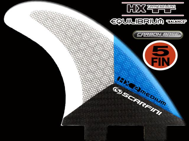 画像1: HX 2   5FIN  EQUILI BRIUIM  FCS  type (S size)
