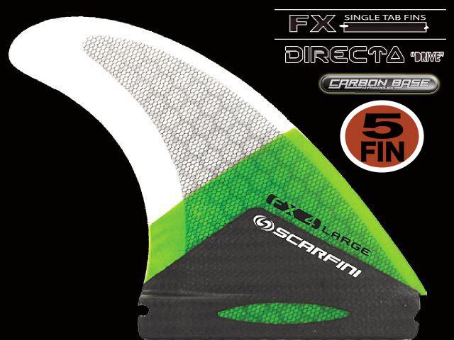 画像1: FX 4  5FIN ``DIRECTA`` FUTURE type (L size)