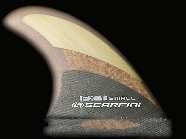 画像1: FX1-BAMBOO CORK(コルク)HEMP BASE (麻)3FIN(S size)